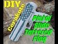 DIY Tattered Flag Pistol Slide with Cerakote | Tattered American Flag