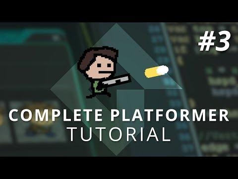GameMaker Studio 2: Complete Platformer Tutorial (Part 3: Shooting & Recoil)