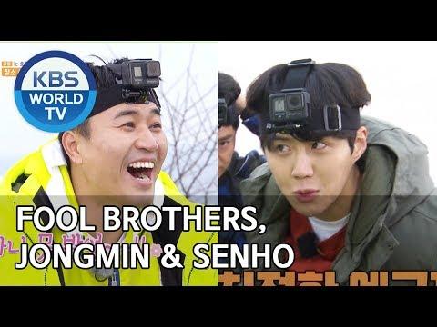 Fool brothers, Jongmin & Seonho [2 Days & 1 Night Season 4/ENG/2020.03.08]