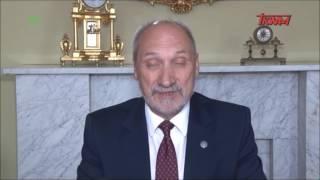 Macierewicz wygłosił orędzie na temat nowej świątyni wybudowanej w Toruniu przez Rydzyka