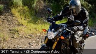 2. MotoUSA Middleweight Street Bike Shootout:  2011 Yamaha FZ8