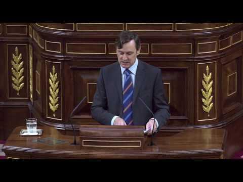 "Hernando a Iglesias: ""Usted nunca será presidente del Gobierno de España"""