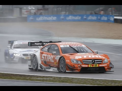 Robert Wickens overtakes 2 cars in 1 corner, DTM Nürburgring '13