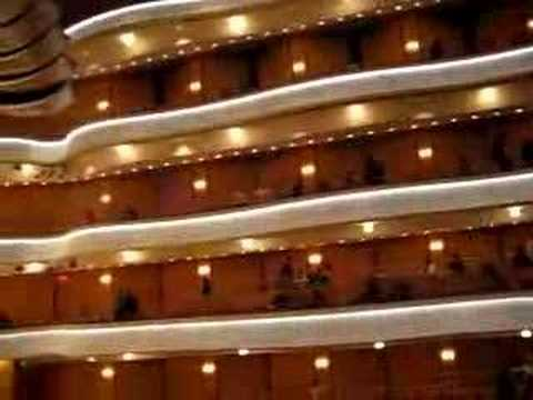 Inside the Henry and Rene Segerstrom Concert Hall