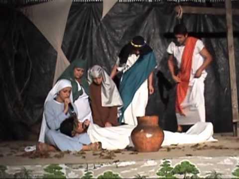 Encenação da Via Sacra em Pinhalão - Parte 2