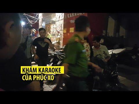 Phúc XO thất thểu trong đêm quán karaoke bị công an khám xét - Thời lượng: 2:00.