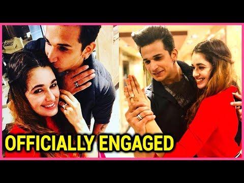 Prince Narula & Yuvika Chaudhary ENGAGED Officiall