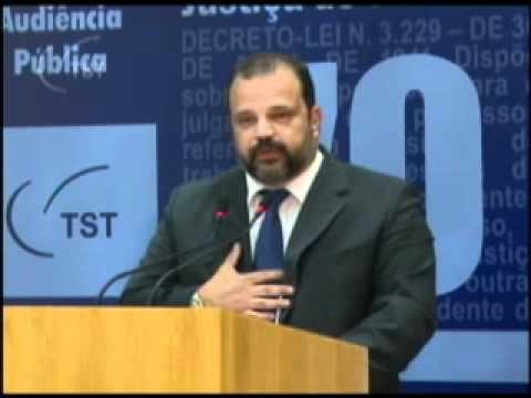 Audiência pública Terceirização: TV TST - 10.10.2011