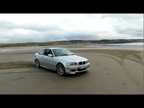 BMW E46 320CI coupe 2.2 M54 170hp  Beach drift Burnout Full HD