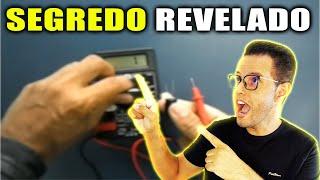 Como testar um capacitor com multimetro digital
