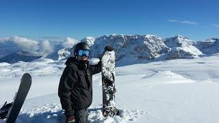 Madonna di Campiglio Italy  city photos : Snowboarding In Italy | 2015 | GoPro Hero 3 Black Edition | Madonna Di Campiglio