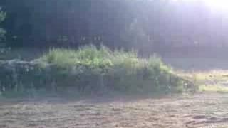 9. Husqvarna Te510 jump pratice