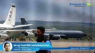 Satu Lagi, Pesawat Militer Amerika Mendarat di Aceh
