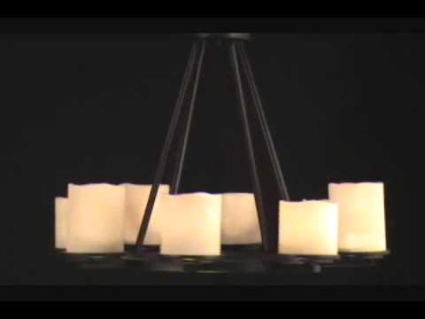 Video for Rustic Ebony Luminous Two-Light Bath Fixture