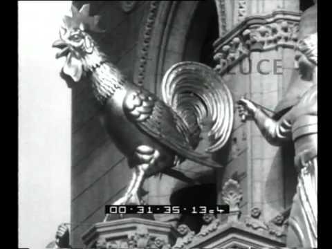 cine giornale luce: il campanile del duomo di messina