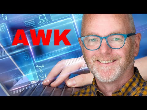 Using AWK to format output