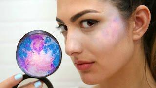 DIY Galaxy Highlighter by RCLBeauty101