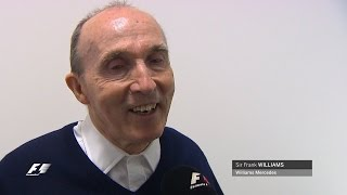 One of Formula 1's legendary characters Sir Frank Williams celebrates his 73rd birthday at the 2015 Bahrain Grand Prix. Hear from the man himself - and daugh...