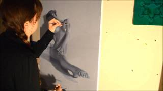 Skrillex (feat. Jeanette Christine - N5, Time Lapse Painting)