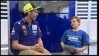 Video Hayes Edwards Interviews Maverick Viñales and Valentino Rossi for 'Motorcycles for Life' MP3, 3GP, MP4, WEBM, AVI, FLV September 2018