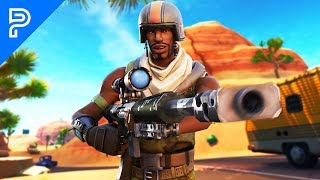 I went into duo fill with AERIAL ASSAULT TROOPER and hit a TRICKSHOT! (he FREAKED out)