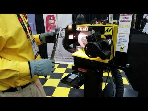 Magna Matic Blade Sharpening System (видео)