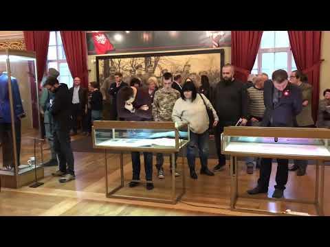 Wideo1: Otwarcie wystawy o Powstaniu Wielkopolskim w Muzeum Okręgowym w Lesznie