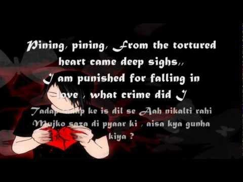Video Tadap Tadap Ke: With Lyrics In English..(Krishna Kumar Kunnath) download in MP3, 3GP, MP4, WEBM, AVI, FLV January 2017