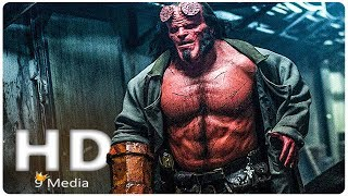 Hellboy New First Look  2019  New Hellboy Reboot  David Harbour Superhero Movie Hd
