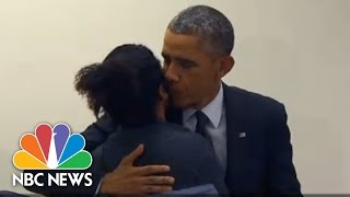 Video Man To Obama: 'Don't Touch My Girlfriend' | 3rd Block | NBC News MP3, 3GP, MP4, WEBM, AVI, FLV Oktober 2017