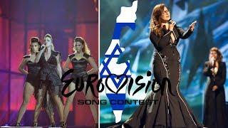 Video Israel in Eurovision (2000-2017) MY TOP 18 MP3, 3GP, MP4, WEBM, AVI, FLV Maret 2018