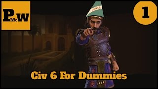 Video Civ 6 for dummies - Winning your first game of Civ 6 - Persia - Prince - Part 1 MP3, 3GP, MP4, WEBM, AVI, FLV Maret 2018