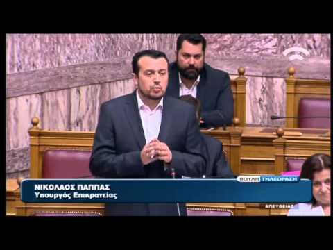 Ν. Παππάς: Η ΕΡΤ δεν θα γίνει η πίσω πόρτα για προσλήψεις στο Δημόσιο