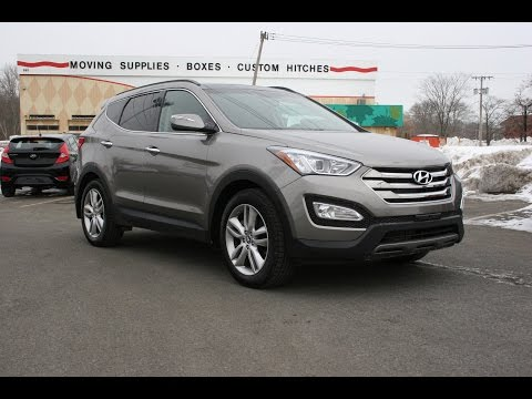 2015 Hyundai Santa Fe Sport 2.0T AWD Review and Test Drive