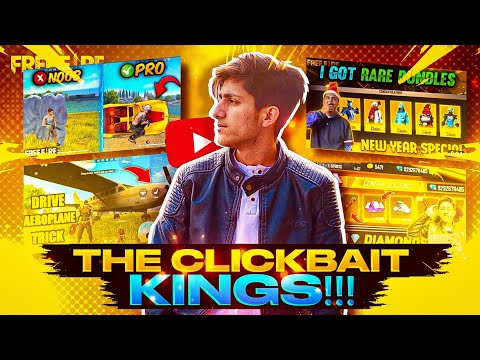 CLICKBAIT KINGS EXPOSED🔥| AS GAMING | #FAMCLASHERS