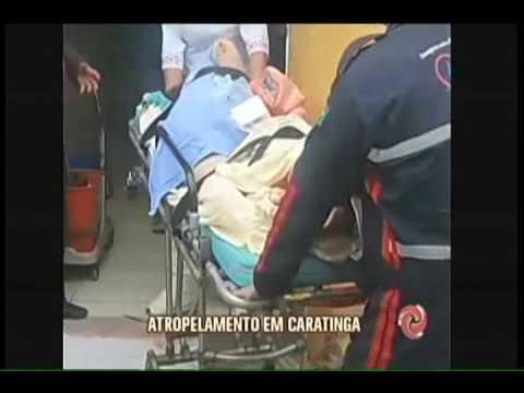 Jovem é preso suspeito de atropelar duas pessoas em Caratinga