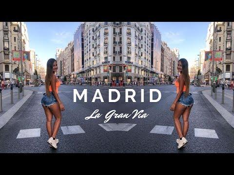 LOS MEJORES lugares de MADRID - Gran Vía I España Vlog #1