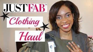 JustFab Clothing Haul