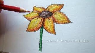 Blumen Blüten malen