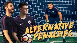 Download Video RABONA PENALTY! | Bernardo Silva v Phil Foden | Alternative Penalties MP3 3GP MP4