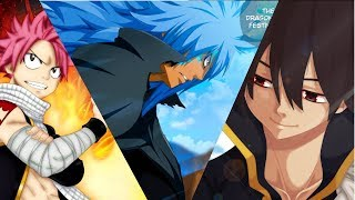 Top 100 Strongest Fairy Tail Characters [series finale]