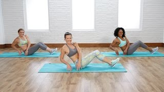 Flatten your belly in just 5 minutes with this obliques and lower-abs workout.POPSUGAR Fitness offers fresh fitness tutorials, workouts, and exercises that will help you on your road to healthy living, weight loss, and stress relief.  Check out Class FitSugar, our do-it-along-with-us real-time workout show hosted by Anna Renderer who will inspire you to sweat alongside fitness experts and Hollywood's hottest celebrity trainers. Class FitSugar regularly covers the most buzzed-about workout classes and trends, including the Victoria's Secret workout, Tabata, P90X, Bar Method, and more.Subscribe to POPSUGAR Fitness!http://www.youtube.com/subscription_center?add_user=popsugartvfitCheck out the rest of our channel:https://www.youtube.com/user/popsugartvfit