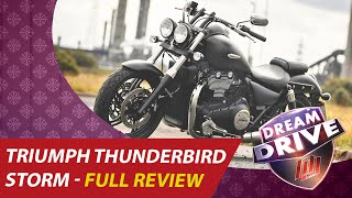 9. TRIUMPH THUNDERBIRD STORM 2016 TEST DRIVE REVIEW VIDEO | DREAM DRIVE 21-06-2016