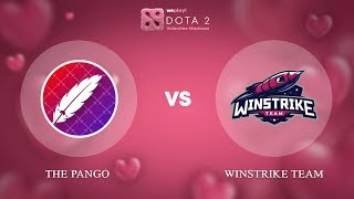 The Pango vs Winstrike Team - RU @Map1 | Dota 2 Valentine Madness | WePlay!