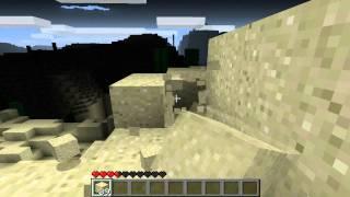 Minecraft: Black Desert - Episode 3 - Building a Shelter