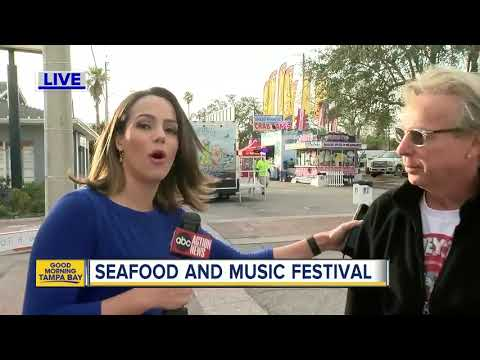 St Pete Beach mixes seafood, music and lots of fun this weekend