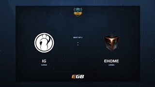iG vs EHOME, Game 1, Dota Summit 7, CN Qualifier