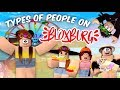 10 Types Of People On BLOXBURG | Roblox