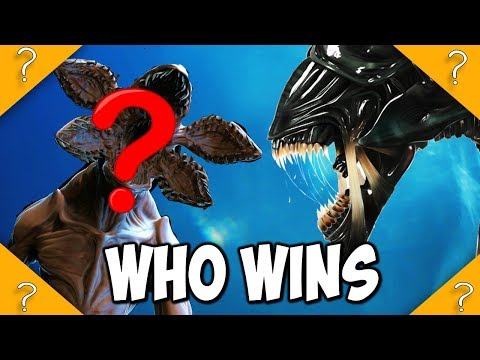 Quiet Place Monster VS Xenomorph from Alien