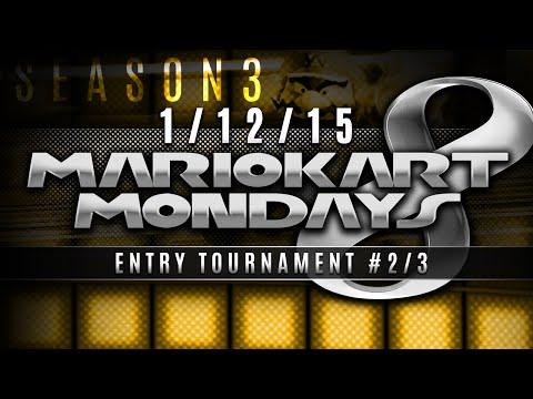 Mario Kart 8 – Entry Tournament #2/3 w/ PKSparkxx! (1/12/15)